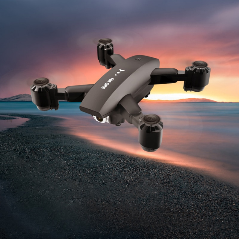 F63 drone 4K HD image transmission optical flow 5G aerial photography GPS positioning aircraft foldi