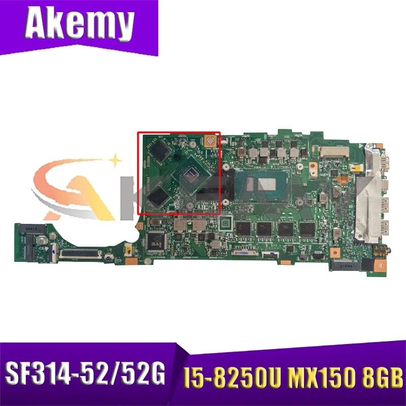 Para acer swift SF314-52 SF314-52G ordenador portátil su4ea placa base Tablero Principal...