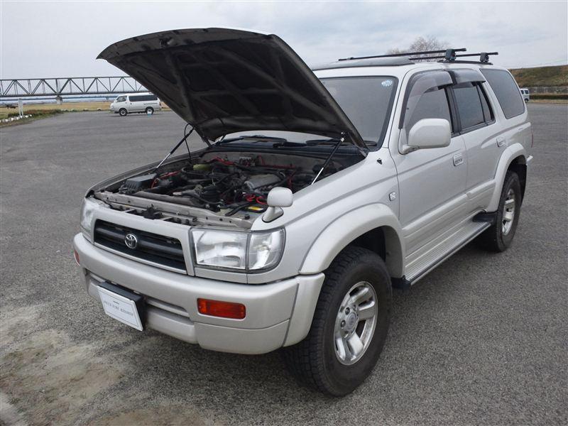 for Toyota 4Runner N180 Hilux Surf SW4 Front Bonnet Hood Modify Gas Struts Carbon Fiber Spring Damper Lift Support Absorber