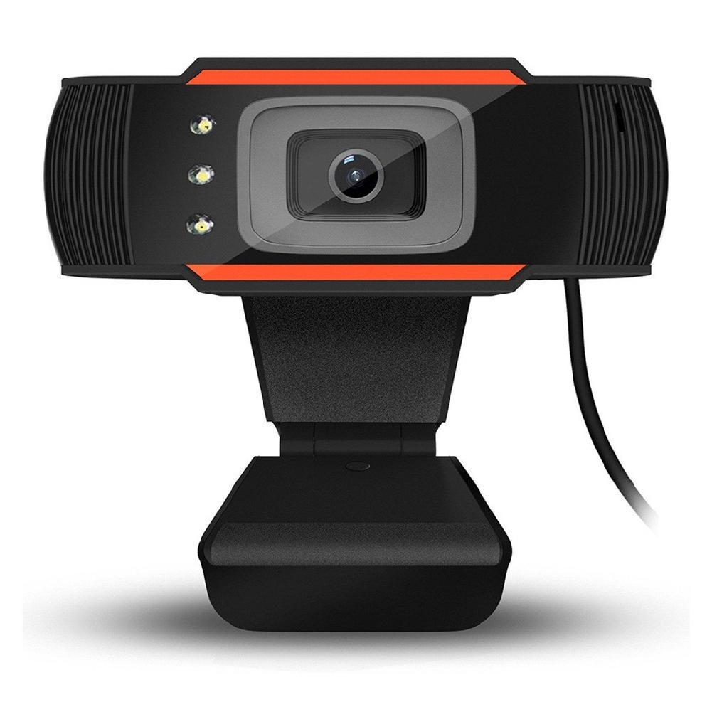 3 светодиода веб-камера 12MP 720P HD веб-камера USB камера с микрофоном для компьютера ПК ноутбука
