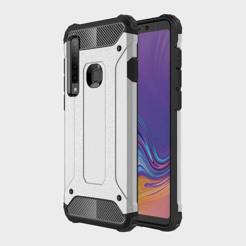 Funda a prueba de golpes Mokoemi Armour para Samsung Galaxy A9 Pro 2019 A9 A8 A6 Plus 2018