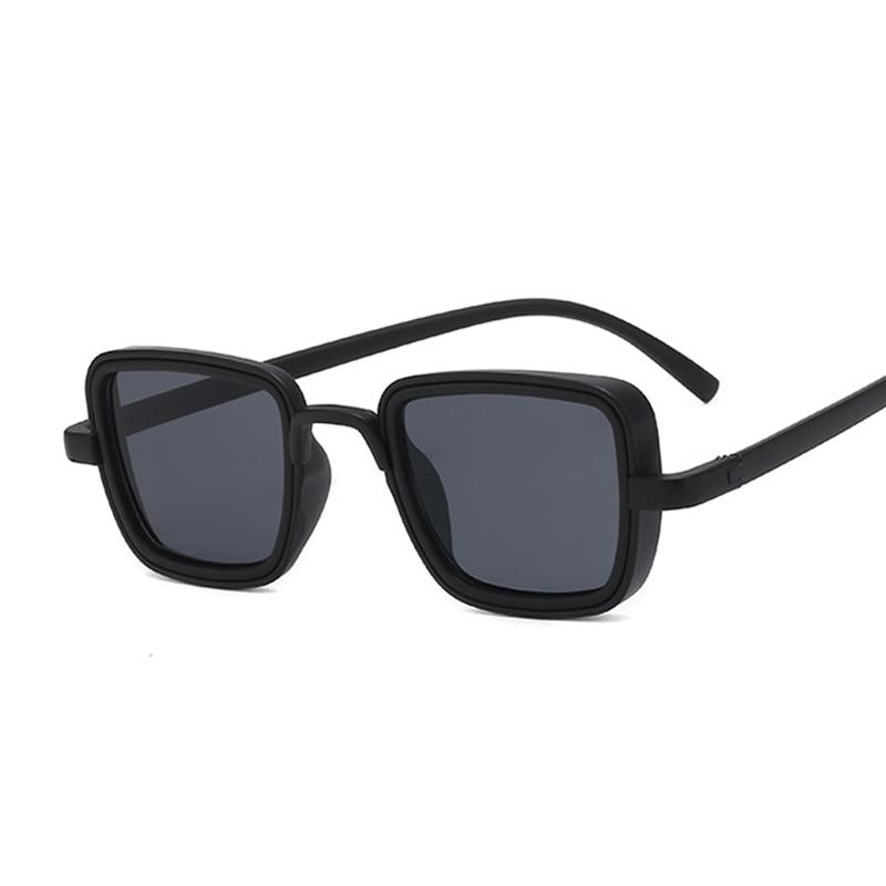New Luxury Kabir Singh India Movie Sunglasses Men Women Square Cool Sun Shades Brand Design Black Glasses for Male