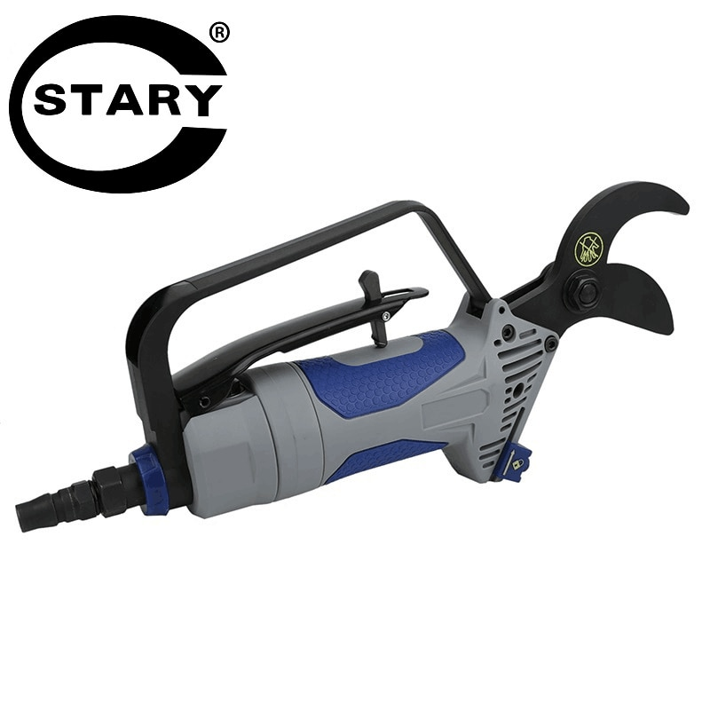 Pneumatic Pruning Shears are Used for Gardening Pneumatic Tool for Pruning Branches and Grass Shears