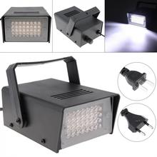 32 led Mini lumière stroboscopique commande vocale effet de scène lumière pour petite fête/barre/famille rassemblement/KTV DJ lumière