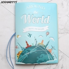 New Have A  Trip Passport Holders Men/women Travel Passport Cover Bag Pvc Leather 3D Design Cover On