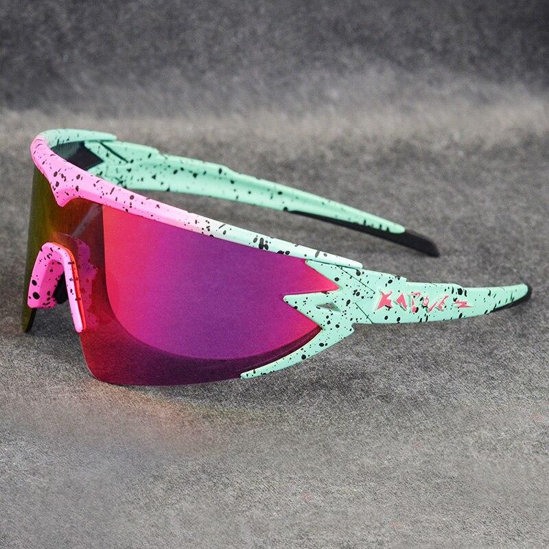 Vermelho óculos polarizados ciclismo óculos de sol das mulheres dos homens esporte estrada mtb mountain bike photochromic óculos de sol oculos ciclismo
