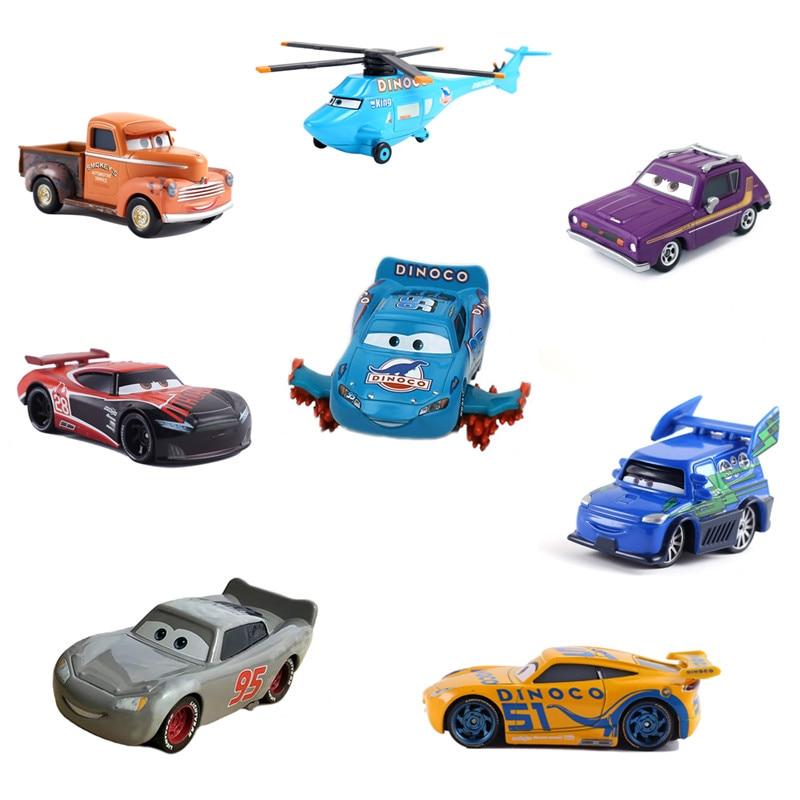 38 Style Disney Pixar Cars 3 New Lightning McQueen Jackson Storm Smokey Diecast Metal Car Model Toy For Children Christmas Gift