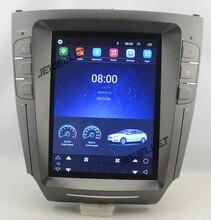 "10.4 ""tesla tarzı android 6.0 dört çekirdekli araba GPS radyo video navigasyon Lexus için IS200 IS220 IS250 IS300 IS350"