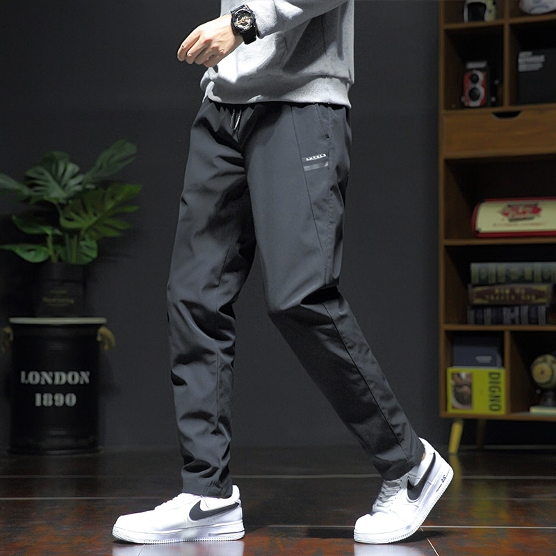 90% White Duck Down Padded Thicken Winter Warm Down Pants Men Joggers Sportswear Sweatpants Thermal Down Trousers