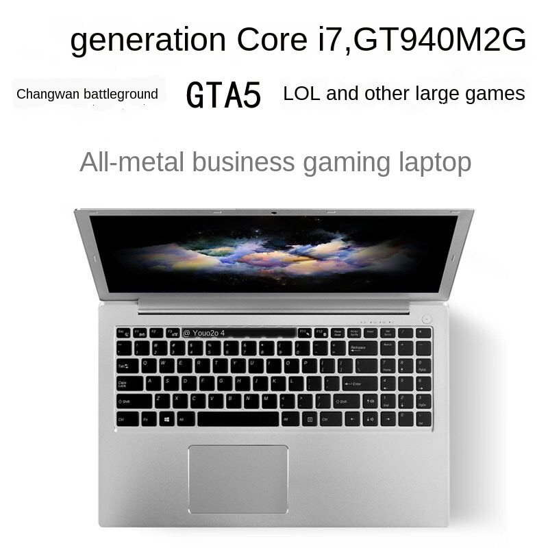 15.6-Inch Gaming Laptop Core I7 8G 512G SSD 1T HDD Laptop Ultra-Thin Business Office Student  Laptop Gaming Netbook