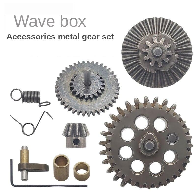 Cuentas de Gel de agua, caja de engranajes de Metal endurecido para JM Gen.8 M-4A1/JM Gen.9 M4A1/LH Vector Gen.2/XWE M4