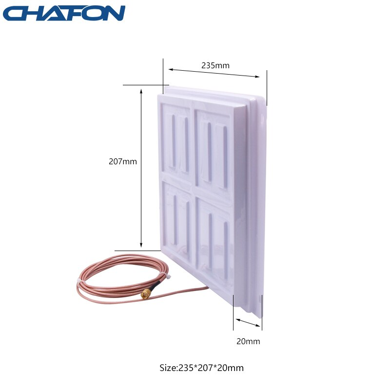 CHAFON 865~868Mhz 902~928Mhz Circular PCB rfid uhf antenna 8dBi for access control smart freezer management