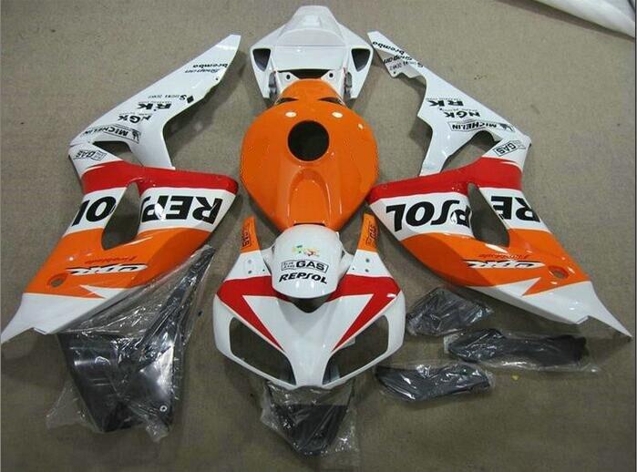 Molde de inyección superior nuevo Kit de carenado completo ABS apto para Honda cbr1000cr 06 07 2006 2007 1000hr carenados Repsol