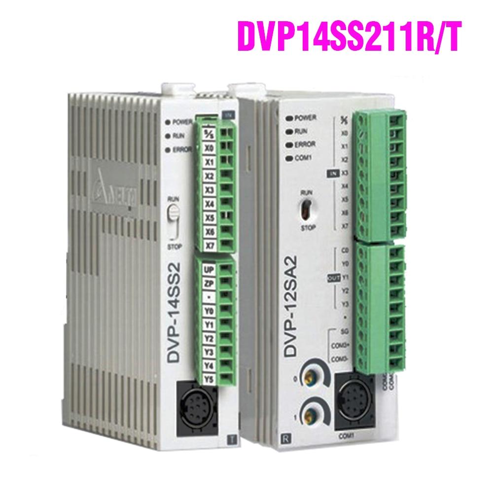 DVP14SS211R DVP14SS211T Delta SS2 DVP Series ، وحدة تحكم قابلة للبرمجة PLC ، توصيل سريع