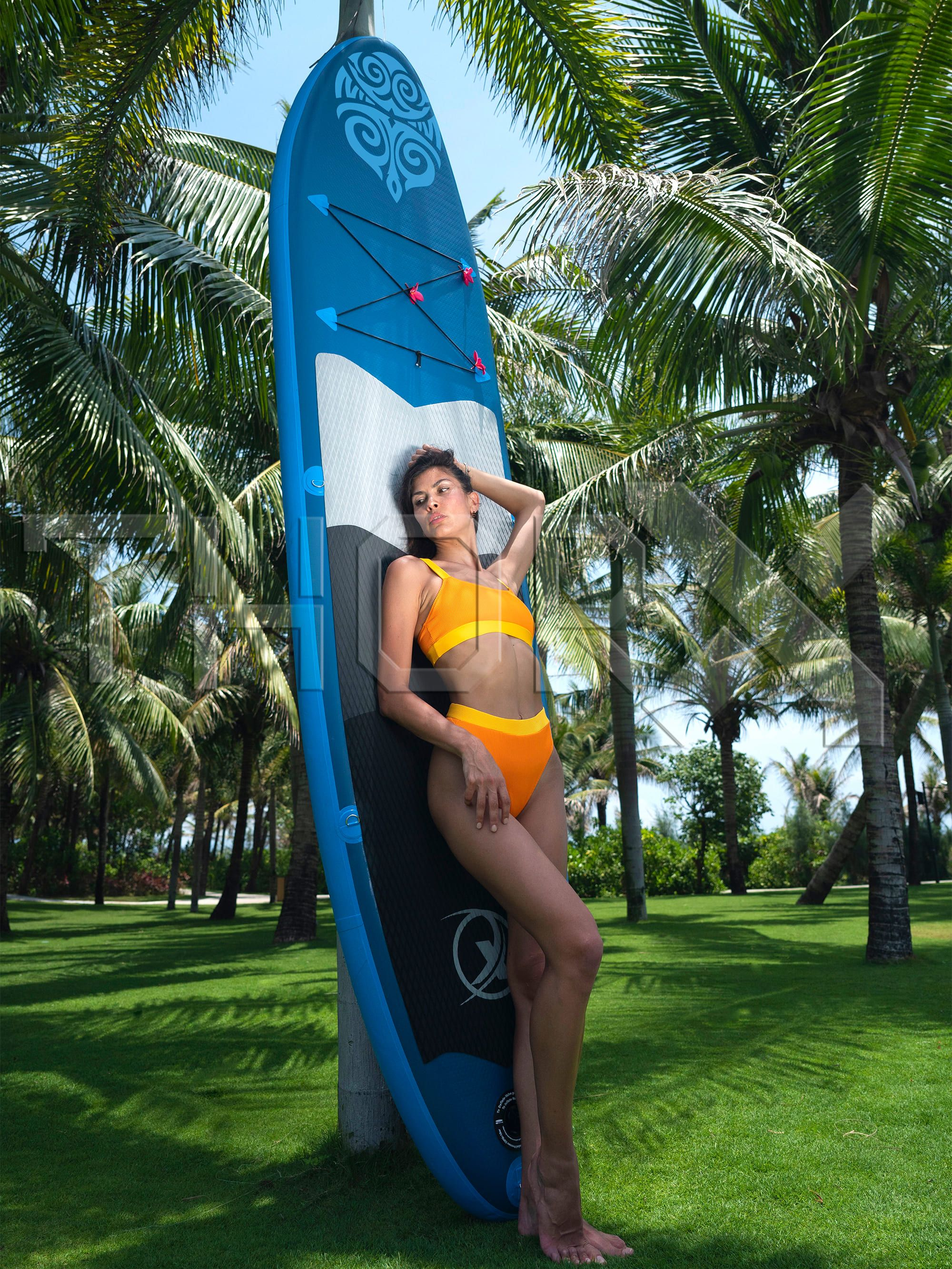 SUP330 Stand up Paddle Board 330x76x15cm, blue - SUP, surfboard, surf board, accessories, fishing