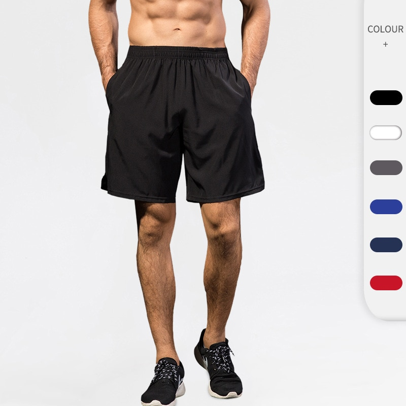 Men's Sports Shorts Fitness Running Basketball Training Pants Sports Casual Breathable Quick-drying Shorts Running Shorts Men недорого