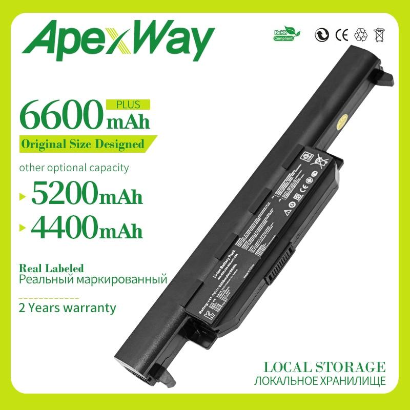 6 celdas batería de portátil para Asus A32-K55 X55U X55C X55A X55V X55VDX75V X75VD X45VD X45V X45U X45C X45A U57VM U57A U57V U57VD R700VM