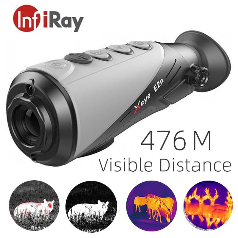 InfiRay E2n/E6Pro للرؤية الليلية التصوير الحراري 640*512 بكسل كاميرا تصوير حراري بالأشعة تحت الحمراء أحادي العين الصيد تلسكوبي البصر