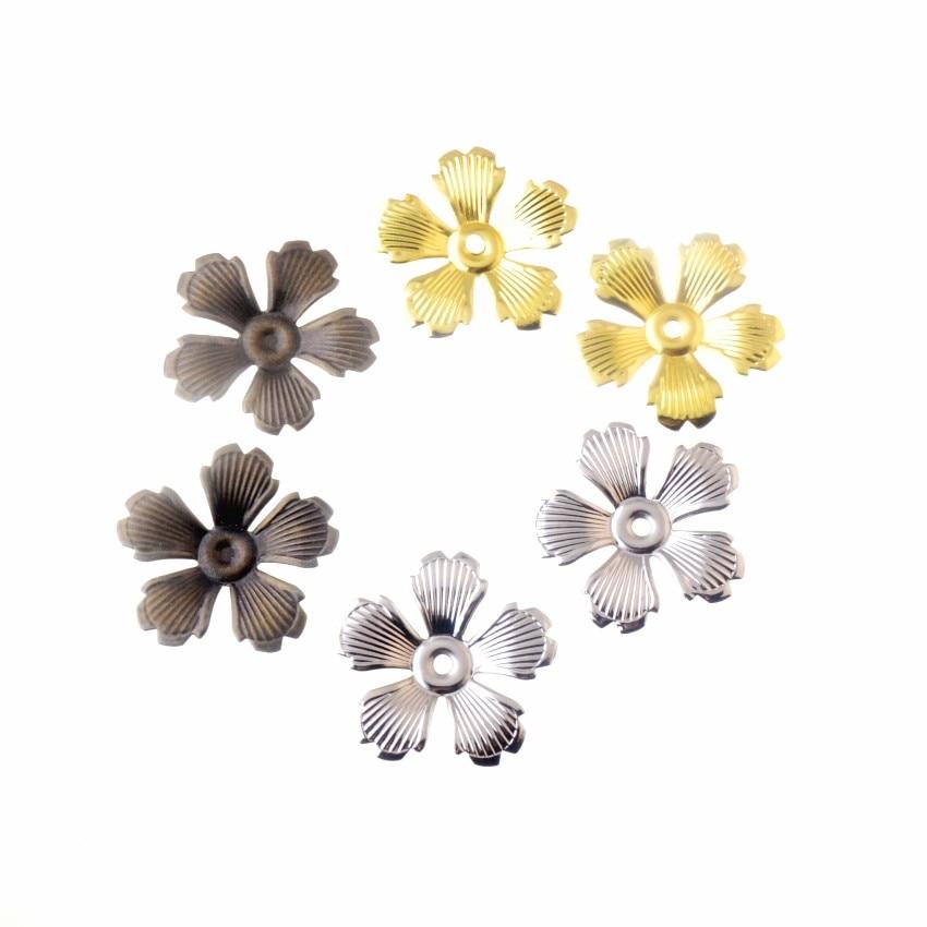 Envío Gratis 20 Uds DIY accesorios de joyería envolturas de filigrana conectores regalo de artesanía metálica decoración 35*35mm