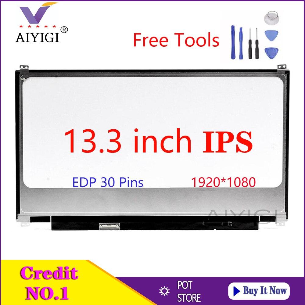 N133HSE-EA1 de pantalla de 13,3 pulgadas para portátil ASUS, UX32, UX32VD, UX31,...