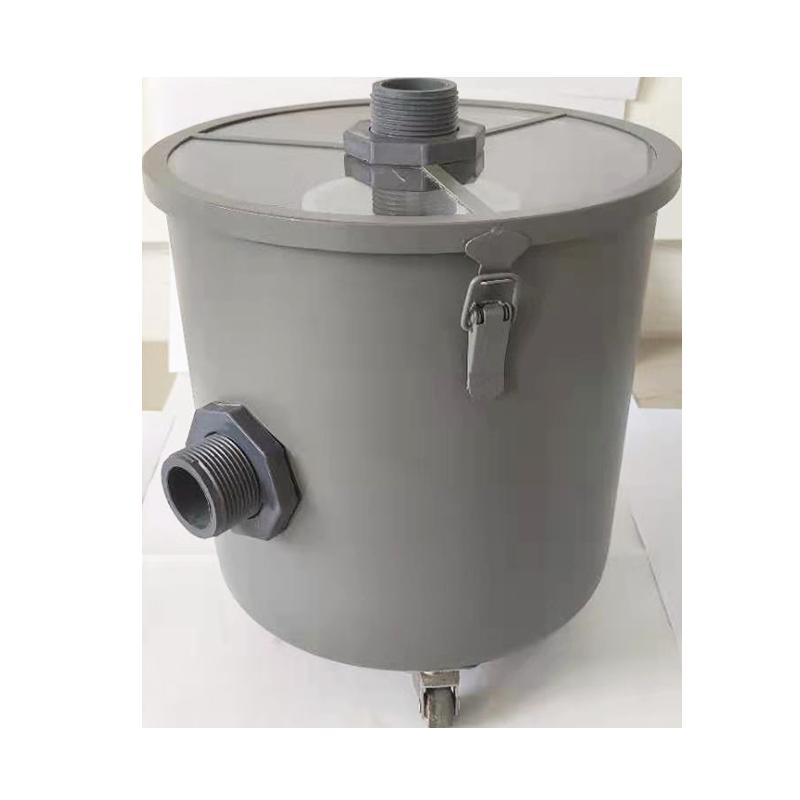 Dental Lab Gypsum Filter Stone Plaster Powder Trap Filter 304 Stainless Steel Sedimentat Tank