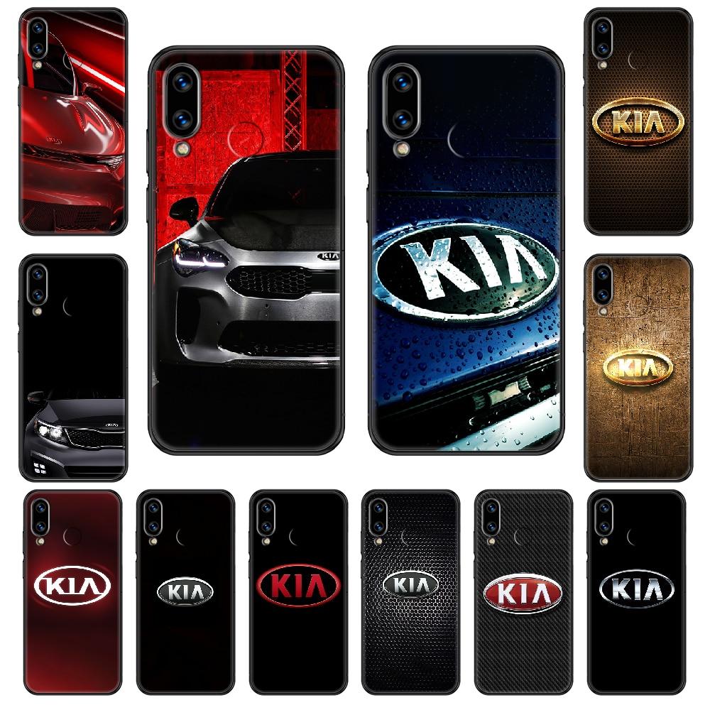 Kia car logo Phone case For Huawei Honor Mate 5 7 8 9 10 20 i A X Lite Pro black pretty cell cover t