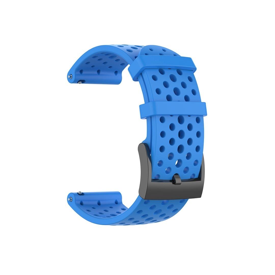Силиконовый ремешок для Suunto 9/D5/9 Baro/Spartan, спортивные наручные часы HR, умные часы, сменный ремешок для часов, стальной ремешок с пряжкой 24 мм