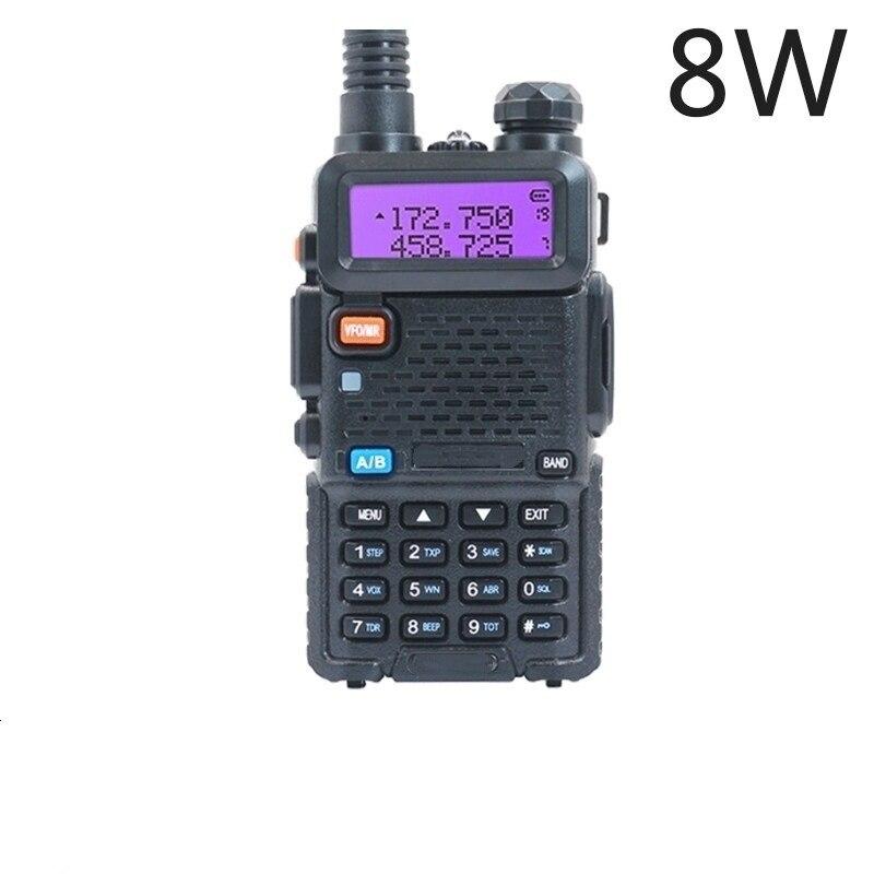 Walkie Talkie Two-way dmr CB Ham Radio Station UV-5R Walkie-talkies 5W 8W VHF Receiver UV5R UV 82 UV9R For hunting