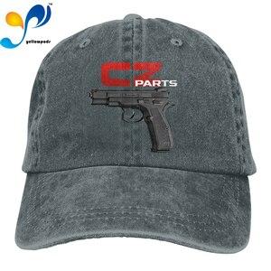 Fashion Hip hop Washed Baseball Cap Cz 75 Shadow Wild Hat Adjustable Men And Women Outdoor Sun Hats Trucker Caps