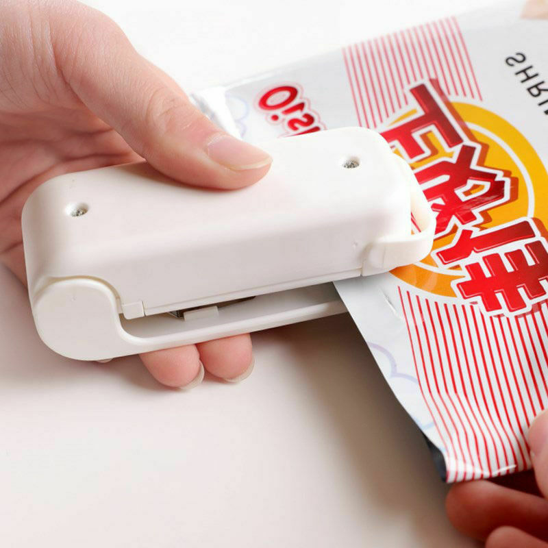 Tragbare Tasche Clips Abdichtung Werkzeug Wärme Mini Handheld Kunststoff Tasche Sealer Lebensmittel Chips & Snack
