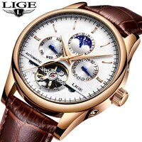 relojes lige men automatic mechanical sport watch men luxury brand casual watches mens wristwatch army clock relogio masculino