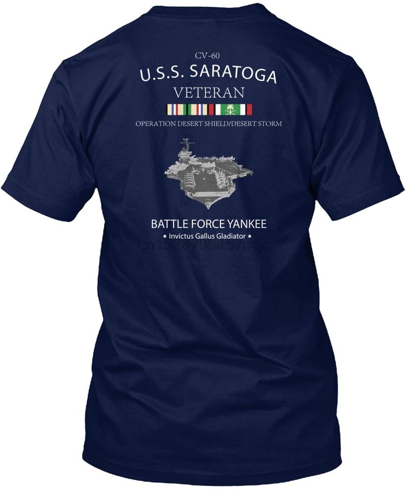 Men T shirt USS SARATOGA ODS VETERAN Women tshirt