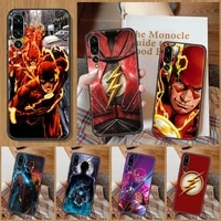 movie flashs phone case for huawei p mate p10 p20 p30 p40 10 20 smart z pro lite black painting waterproof luxury cell cover