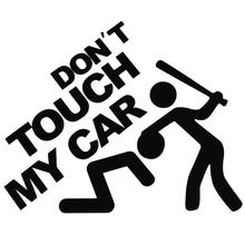 Car Sticker Vinyl Decals Words DONT TOUCH MY CAR  Reflective Window Car Body Trunk Car Sticker Styli