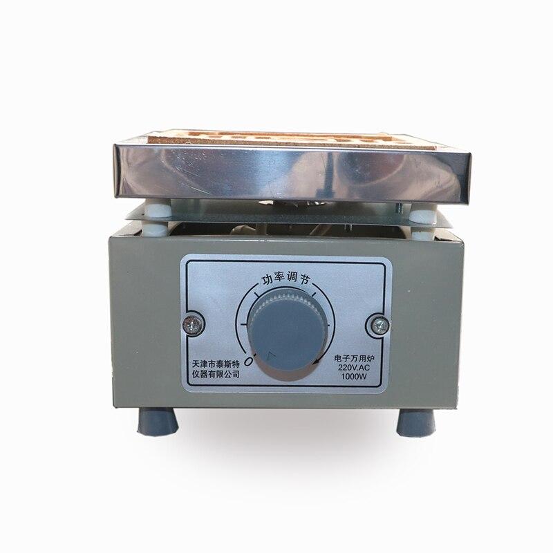 Dk-98-ii اتصال واحد 1kW/2kW درجة الحرارة الإلكترونية تنظيم فرن إلكتروني عالمي 1000 واط مختبر فرن كهربائي