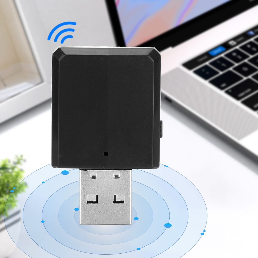 3 In 1 USB BT Receiver Transmitter Wireless Audio Adapter 4K Video Dongle HIFI 3.5mm AUX For TV PC Headphone Home Stereo Adapter enlarge