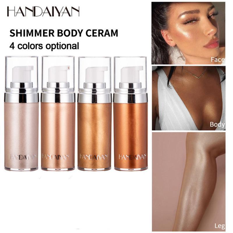 AliExpress - New 20ml Makeup Highlighter Liquid Illuminator Contouring Face Brightener Concealer Highlight Primer Bronzer Body Glow Cosmetics