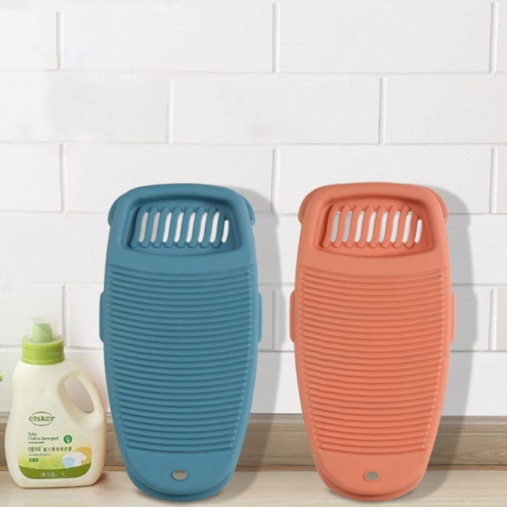 Portable Clothes Cleaning Tools Antislip Laundry Accessories  Washboard Plastic Washing Board Household Accessories enlarge