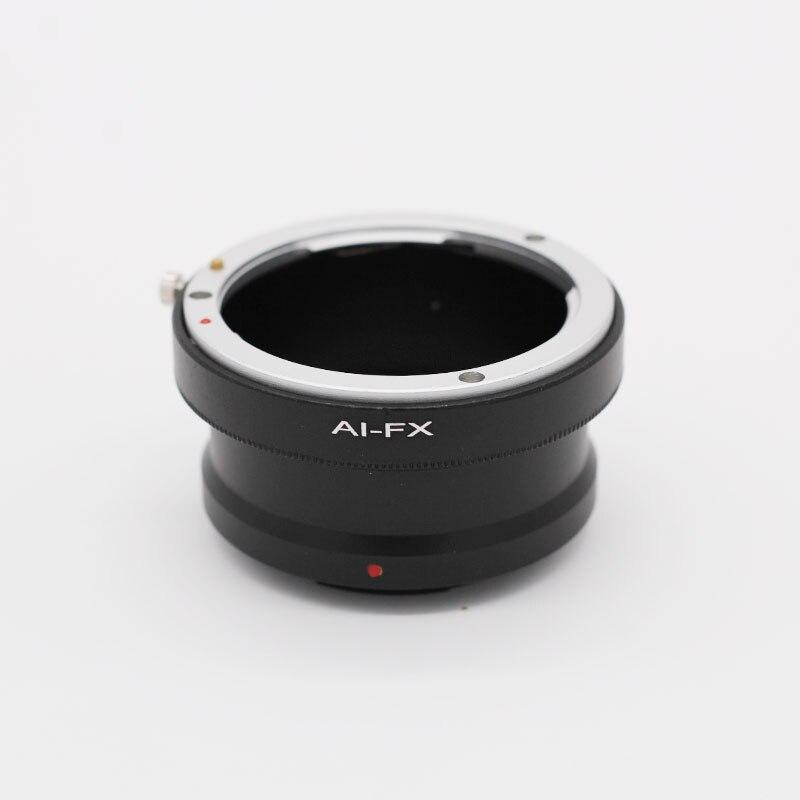 Lente Da Câmera Anel Adaptador de Montagem Para Nikon AF AI-FX Fuji FX X-Pro1 X-T1 X-T2 X-T20 X-E1 X-M1 X-E3 X-A1 X-A2 acessórios da câmera