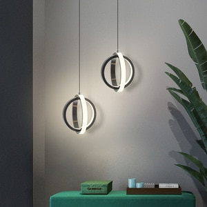 Led Pendant Lamp for Bedroom Modern Creative Small Hanging Chandelier in the Kitchen Room Bedside Nordic Home Deco Light WJ1010
