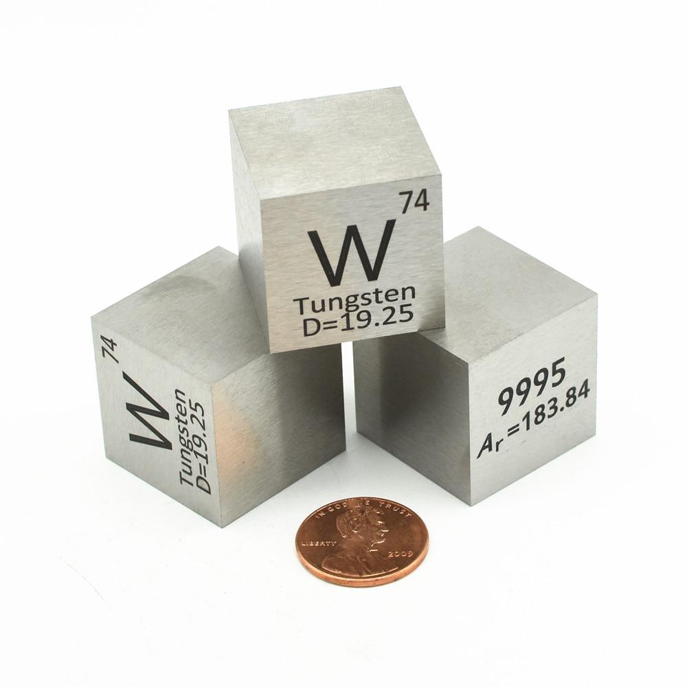 Pure Tungsten Cube Density W Block 99.95% for Element Collection Wolfram Hard Heavy Metal DIY Hobbies Crafts Display 10 20 50mm недорого