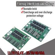 3S 25A 40S 리튬 이온 18650 BMS PCM 배터리 보호 보드 bms pcm, 리튬 이온 리포 배터리 셀 팩