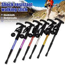 Bâtons de marche bâtons de randonnée réglables bâtons de marche scandinaves télescopiques bâton de randonnée Anti-choc