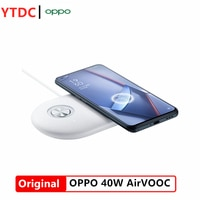 Original OPPO 40W AirVOOC Fast Wireless Charger For Mobile Phone OPPO Reno 4 Pro 3 Find X2 Pro