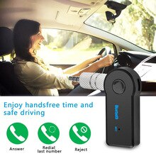 Wireless Bluetooth Receiver 3.5mm  Jack Audio Transmitter Handsfree Phone Call AUX Music Receiver fo