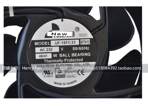 Genuino fan UF16FC23-BTHD 2850 (r/min) 46W 230V ventilador Axial