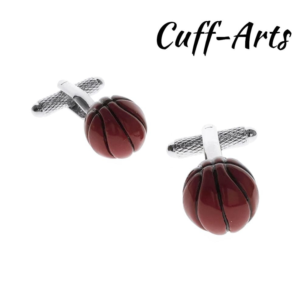 Gemelos para hombre, Gemelos deportivos De baloncesto, regalos para hombres, Gemelos Les Boutons De Manchette De cufflarts C10532