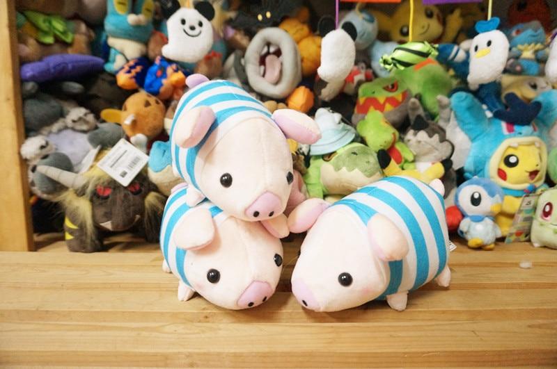 1 pçs japonês original único monster hunter monsterhunter animal de estimação porco quente médio pelúcia decoração