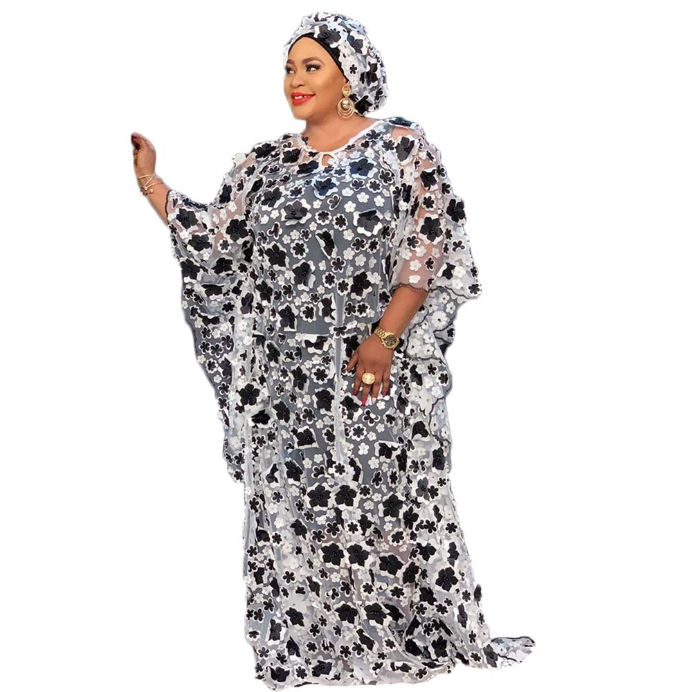 Vestido africano para mulher kaftan bubu vestido dashiki roupas femininas maxi grande tamanhos grandes