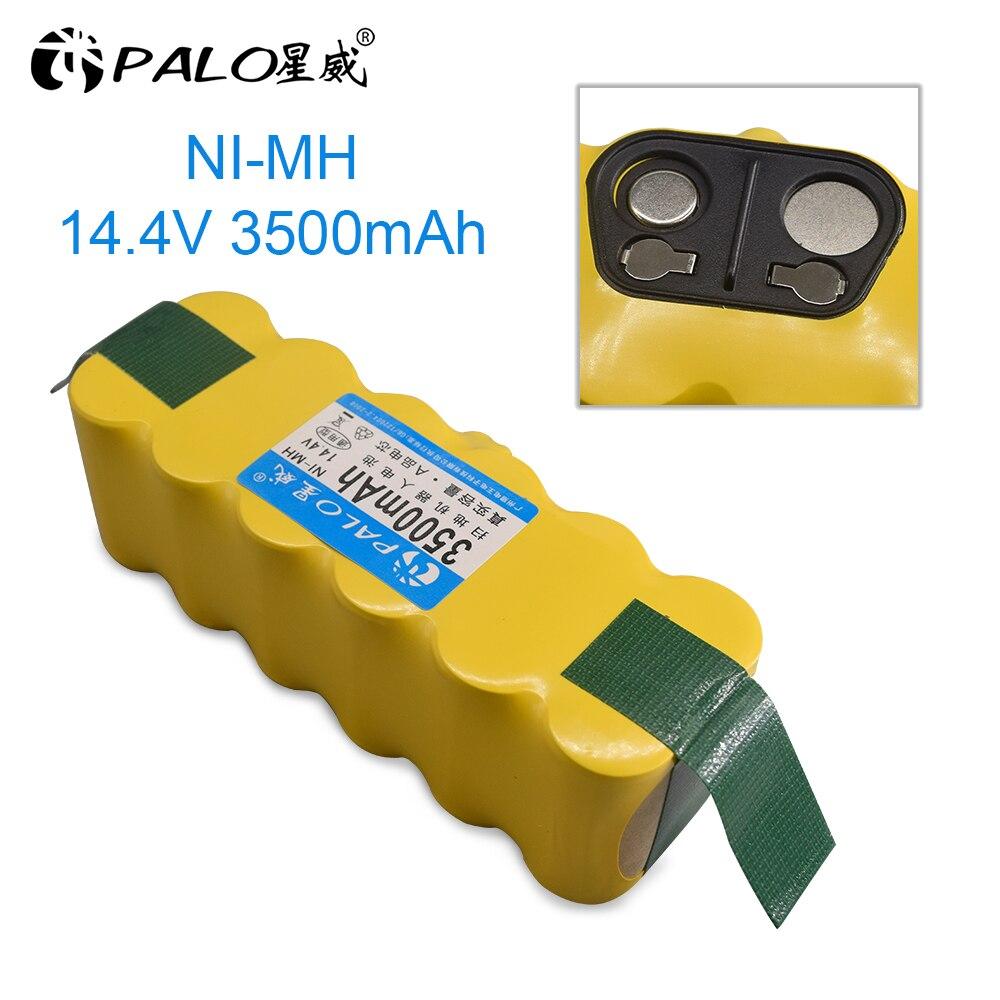 PALO Ni-MH аккумулятор 14,4 В, 3500 мА/ч для iRobot Roomba 500, 600, 700, 800, 900 серия, пылесос iRobot roomba 600, 620, 650, 700, 770